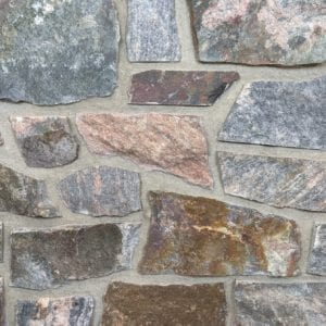 Appleton Fieldledge Natural Thin Stone Veneer Mock-Up