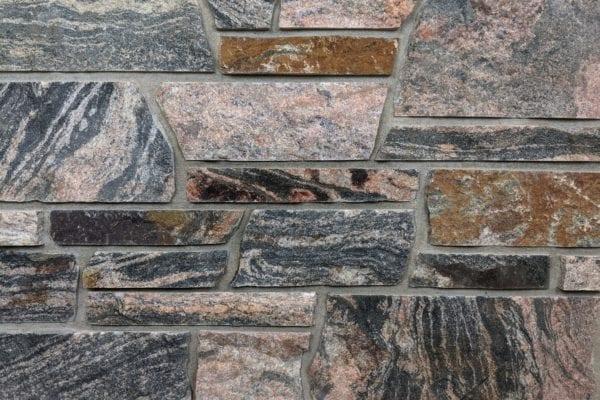 Ashbridge Sawed Height Granite Thin Veneer Mock-Up