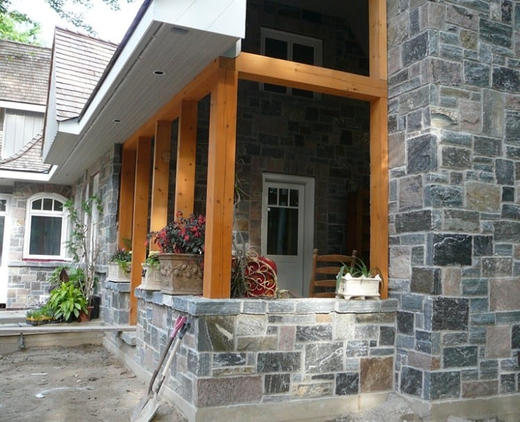 Astoria Natural Thin Stone Veneer Exterior