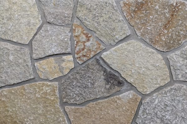 Beaver Creek Mosaic Natural Stone Veneer Mock-Up