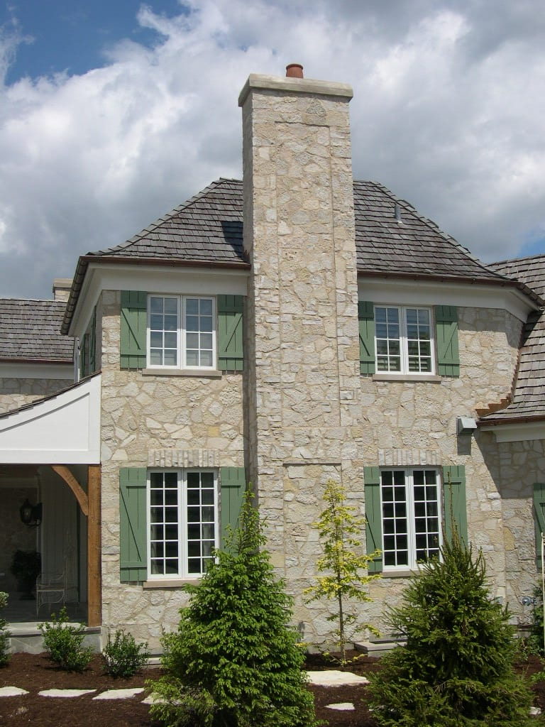 Beaver Creek Natural Thin Stone Veneer Home Exterior