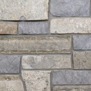 Big Horn Natural Stone Veneer Mock-Up