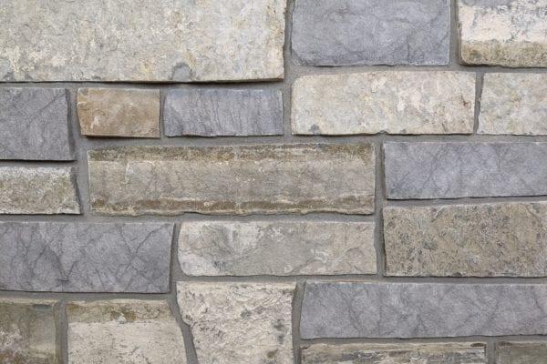 Big Horn Natural Stone Veneer Mock-Up