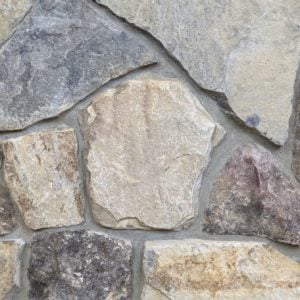 Carpathian Real Thin Stone Veneer Mock-Up
