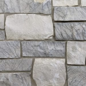 Catskill Real Thin Stone Veneer Mock-Up