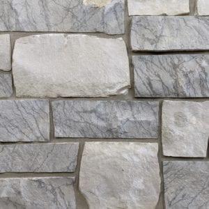 Catskill Real Thin Stone Veneer Mock-Up