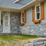 Chamberlain Natural Thin Stone Veneer Home Exterior