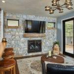 Chamberlain Natural Thin Stone Veneer Living Room