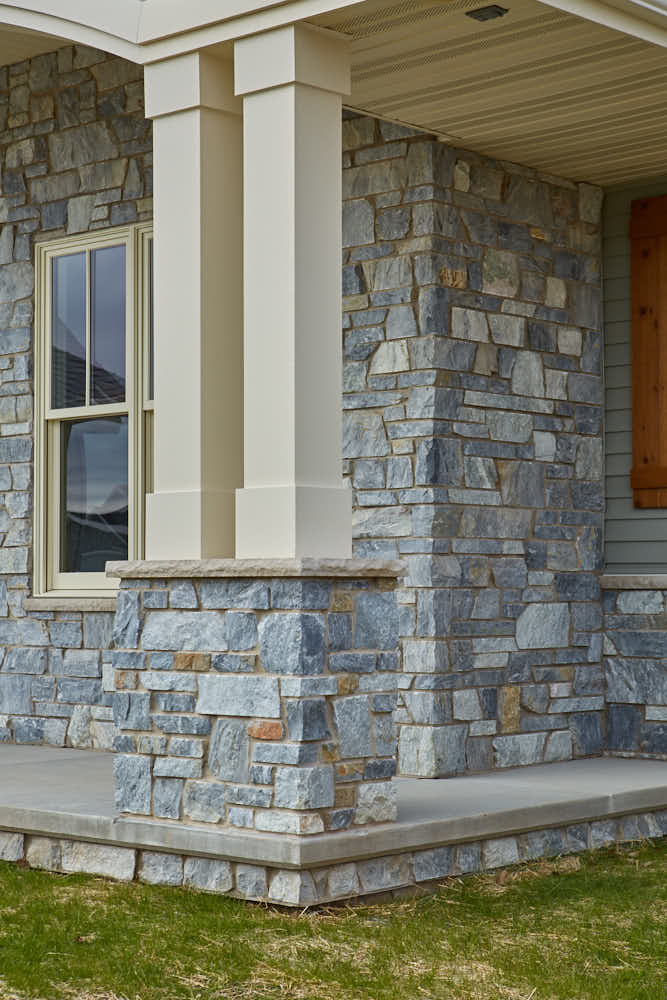 Chamberlain Real Thin Stone Veneer Home Exterior