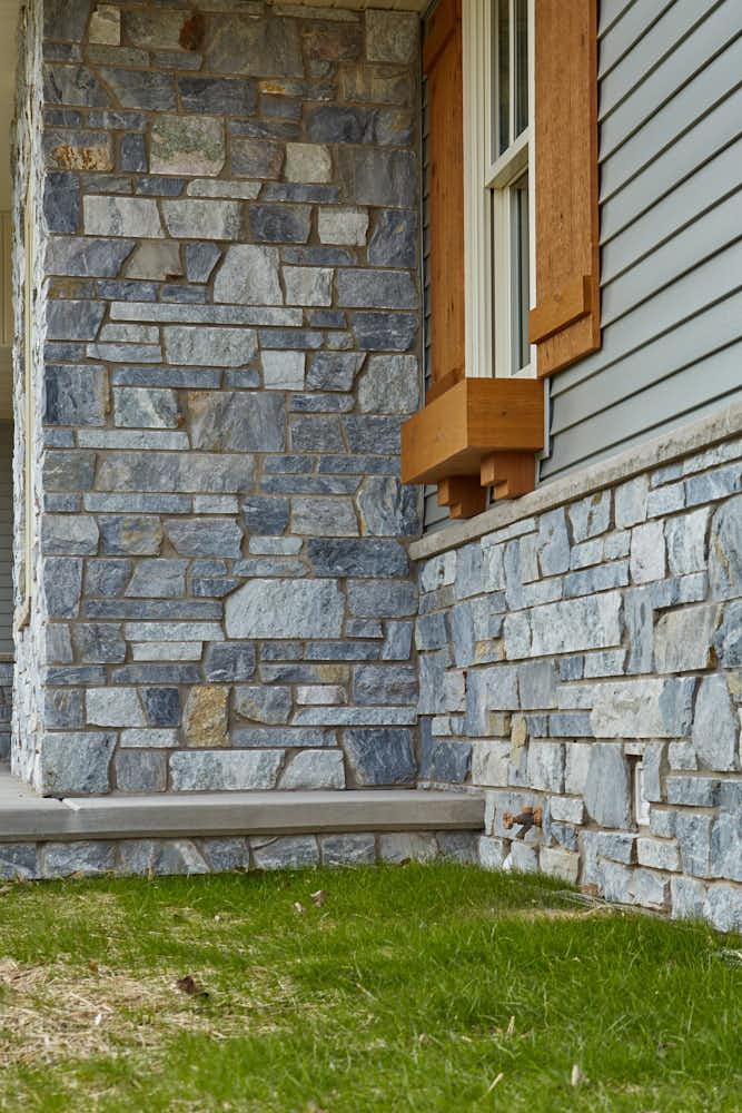 Chamberlain Real Thin Stone Veneer Masonry