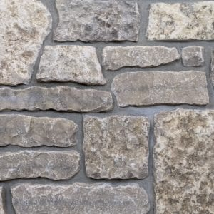 Chateau Thin Stone Veneer Mock-Up