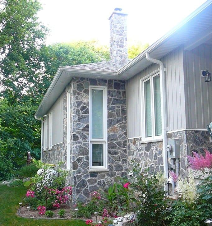 Concord Natural Thin Stone Veneer Exterior