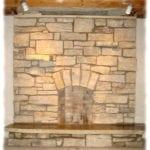 Door County Fieldstone Fireplace Masonry