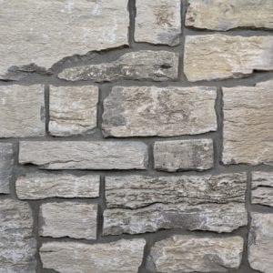 Door County Fieldstone Real Stone Veneer Mock-Up