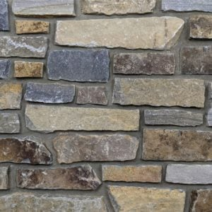 Dutch Harbor Natural Thin Stone Veneer Mock-Up