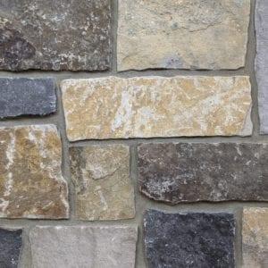 Edinburgh Real Thin Stone Veneer Mock-Up