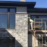 Galaxy Natural Thin Stone Veneer Home Exterior