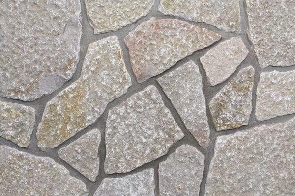 Huron Tumbled Thin Stone Veneer Mock-Up