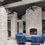 Joliet Real Stone Veneer Outdoor Living