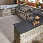 Joliet Thin Stone Veneer Grill & Kitchen