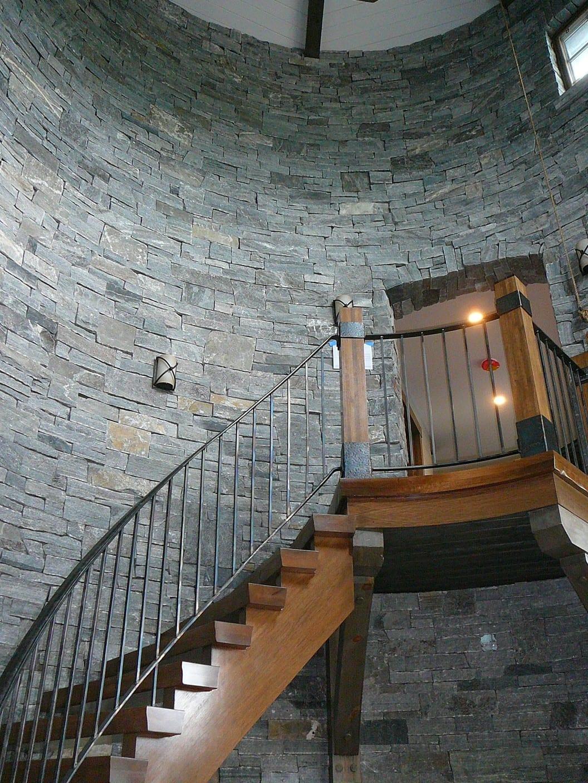 Logan Natural Thin Stone Veneer Interior Wall