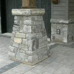 Logan Natural Thin Stone Veneer Pillar