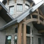 Logan Real Thin Stone Veneer Turret