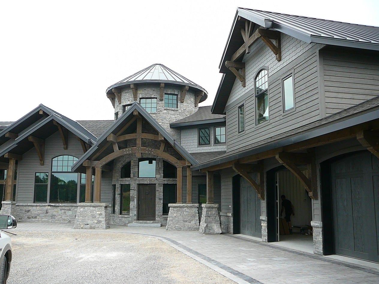 Logan Thin Stone Veneer Home Exterior