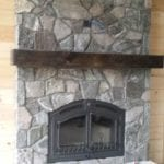 Matterhorn Natural Thin Stone Veneer Fireplace