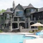 Monroe Natural Thin Stone Veneer Home Exterior