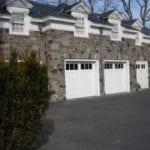 Monroe Real Thin Stone Veneer Garage