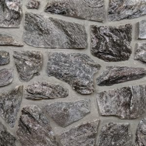Night Mist Mosaic Natural Stone Veneer Mock-Up