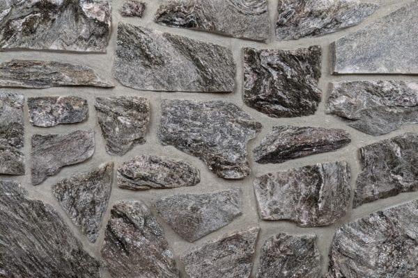 Night Mist Mosaic Natural Stone Veneer Mock-Up