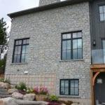 Nottingham Natural Thin Stone Veneer Home Exterior