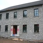 Nottingham Natural Thin Stone Veneer Installation