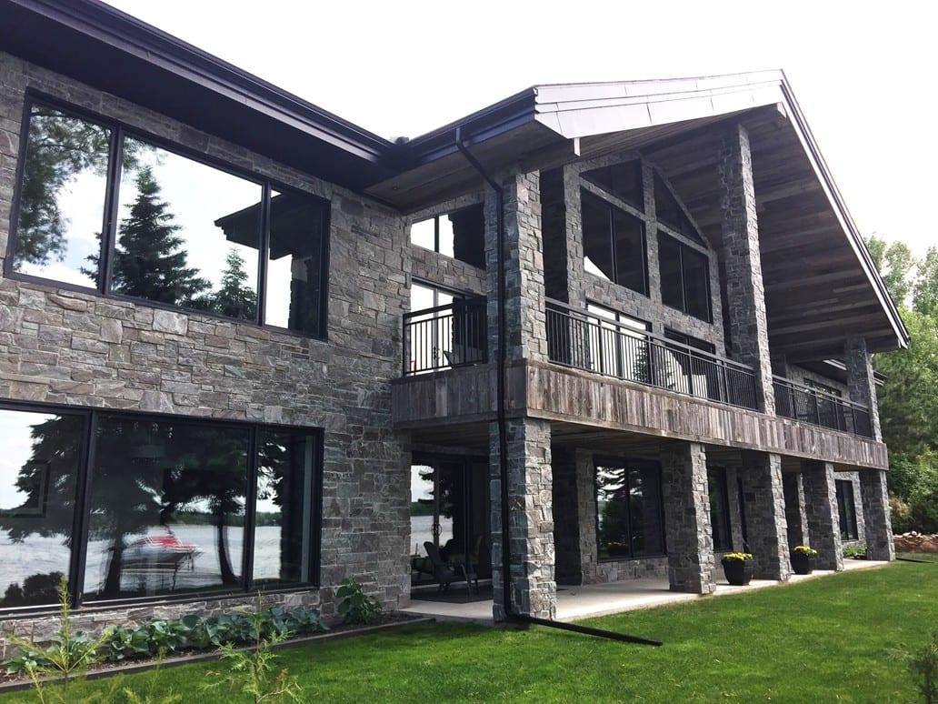 Pembroke Real Thin Stone Veneer Architecture