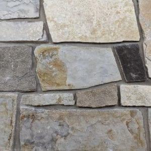 Quandary Peak Thin Stone Veneer Mock-Up