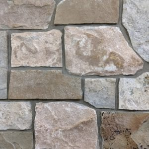 Racine Natural Stone Veneer Mock-Up