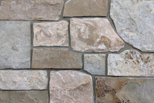 Racine Natural Stone Veneer Mock-Up