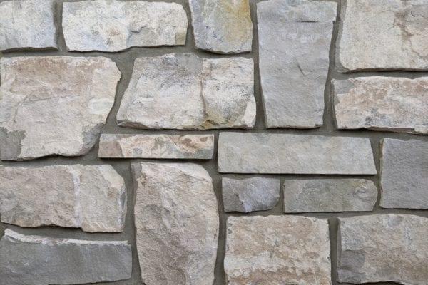 Roanoke Natural Thin Stone Veneer Mock-Up