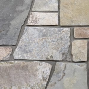 Sherman Real Thin Stone Veneer Mock-Up