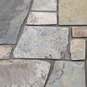 Sherman Real Thin Stone Veneer Mock-Up