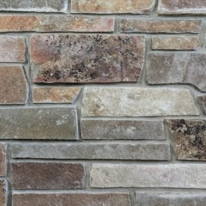 Sumpter Natural Thin Stone Veneer Mock-Up