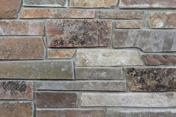 Sumpter Natural Thin Stone Veneer Mock-Up