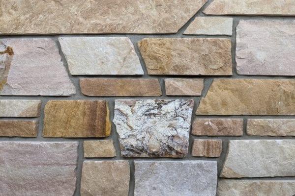 Sunset Dimensional Style Real Stone Veneer Mock-Up