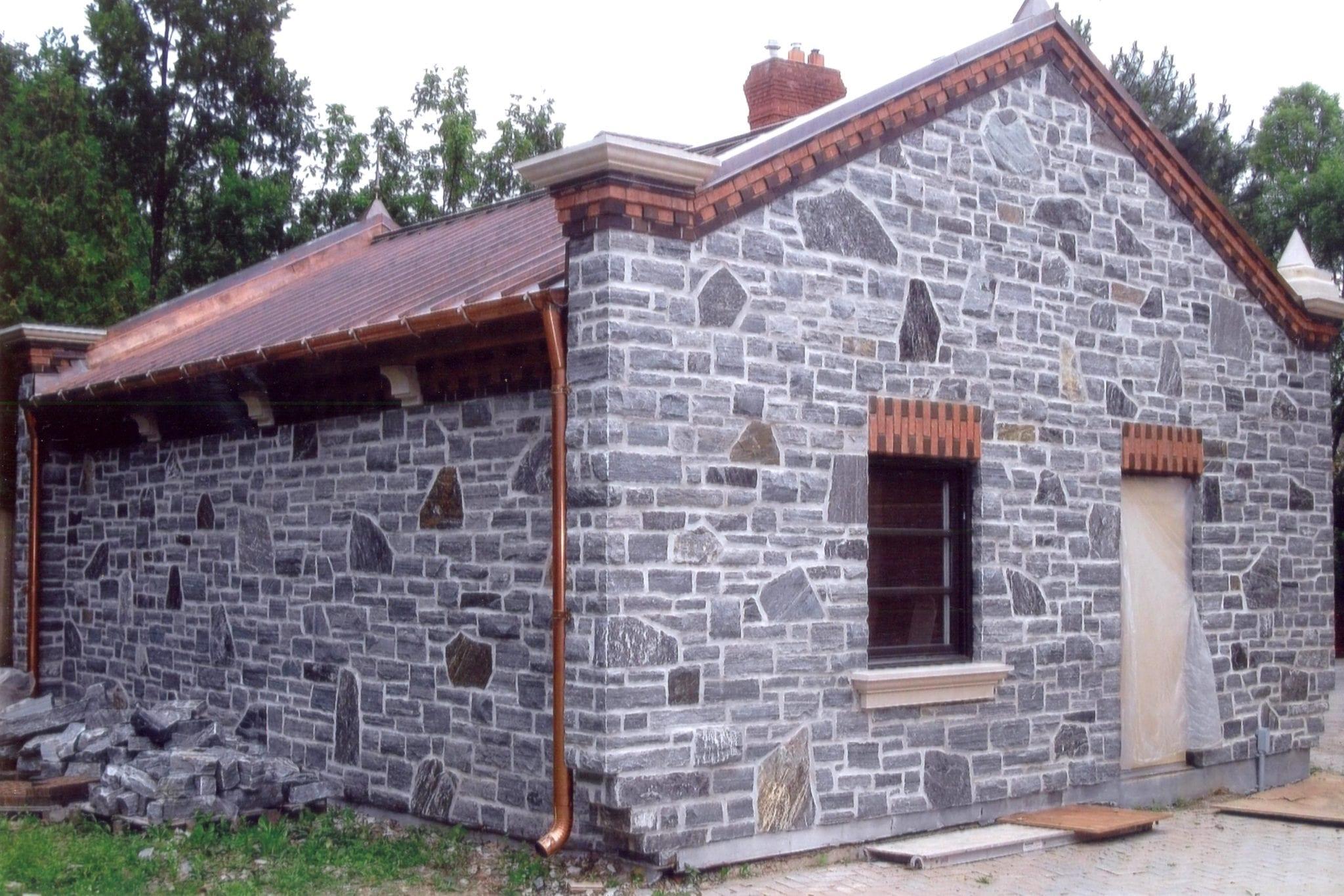 Timmins Real Thin Stone Veneer Exterior