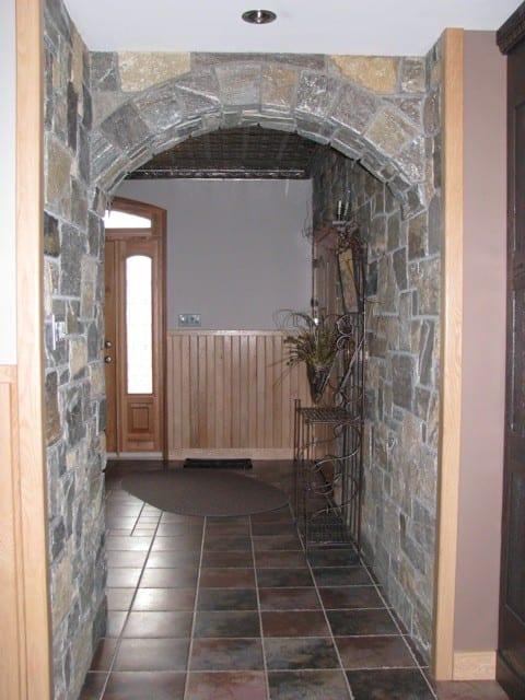 Vancouver Natural Stone Veneer Interior Hallway