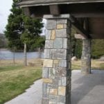 Vancouver Natural Thin Stone Veneer Pillars