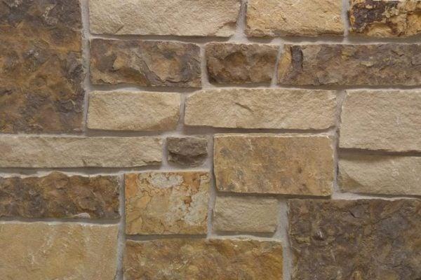 Berkshire Natural Stone Veneer Mock-Up