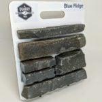 Blue Ridge Natural Stone Veneer Sample Board